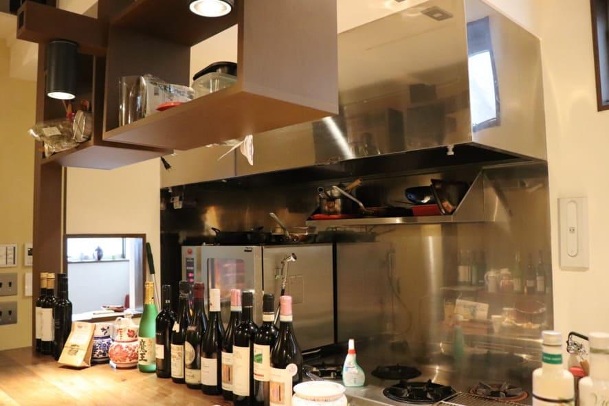 旬菜とイタリアンDAMA 厨房